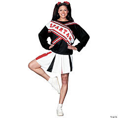 Cheerleader Spartan Girl Adult Women's Costume