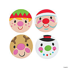 Cheery Christmas Hair Clips