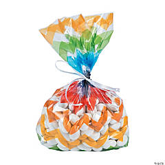 Chevron Cellophane Bags
