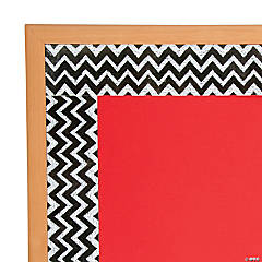 Chevron Chalkboard Borders