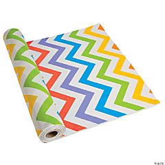 Chevron Plastic Tablecloth Roll