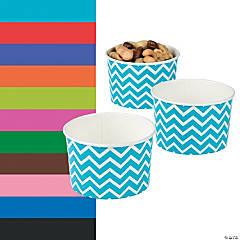 Chevron Snack Paper Bowls