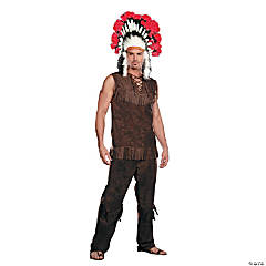 Chief Long Arrow Native American Costume For Men