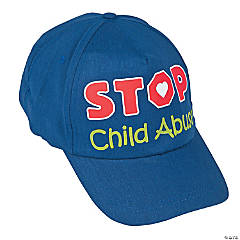 Child Abuse Awareness Baseball Caps