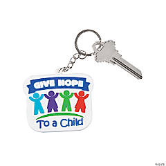 Child Abuse Awareness Key Chains