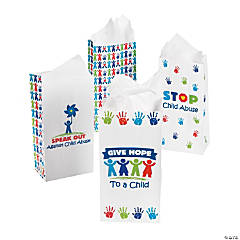 Child Abuse Awareness Prevention Treat Bags