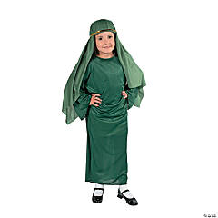 Child Green Nativity Gown
