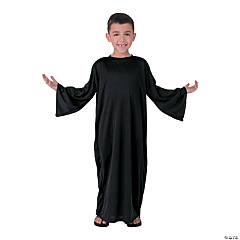 Child's Small Black Nativity Gown
