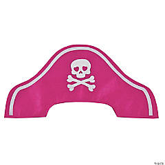 Child's Pink Pirate Hats