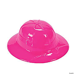 Child's Pink Safari Pith Helmets