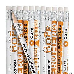 Childhood Cancer Awareness Pencils