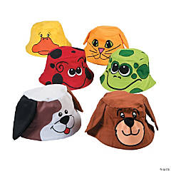 Child's Animal Bucket Hats