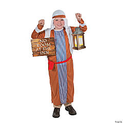 Child's Innkeeper Costume & Prop Set