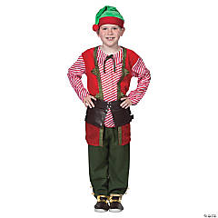 Child's Large Toy Maker Elf Costume