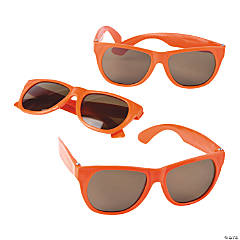 Child's Orange Nomad Sunglasses
