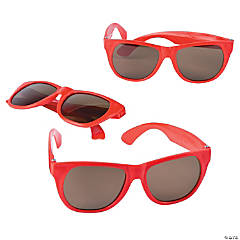 Child's Red Nomad Sunglasses