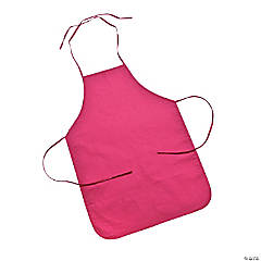 Child's Size Dark Pink Apron