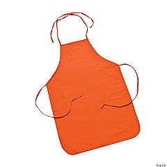Child's Size Orange Apron