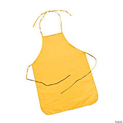Child's Size Yellow Apron