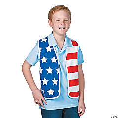 Child's USA Flag Vest