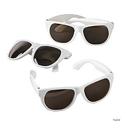 Child's White Nomad Sunglasses