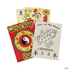 Chinese New Year Activity Books with Stickers