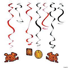 Chinese New Year Hanging Swirls Mega Pack