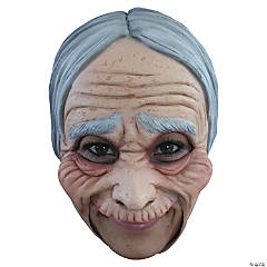 Chinless Old Lady Mask for Adults