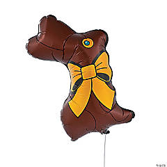 Chocolate Bunny Balloon