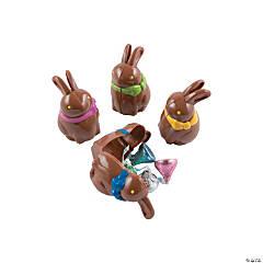 Chocolate Bunny-Shaped Eggs - 12 Pc.