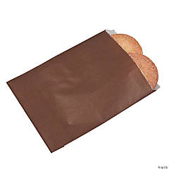 Chocolate Parchment Treat Bags