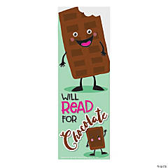 Chocolate-Scented Bookmarks