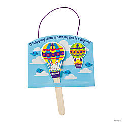 Christ is Risen Hot Air Balloon Sign Craft Kit