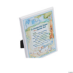 Christening Prayer Plaque - Boy