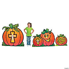Christian Pumpkin Cardboard Stand-Ups
