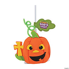 Christian Pumpkin Lollipop Craft Kit