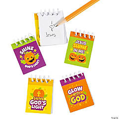 Christian Pumpkin Mini Notepads