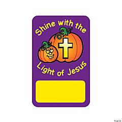 Christian Pumpkin Notepad Stickers