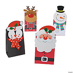 Christmas 3D Treat Bags
