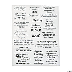 Christmas & Inspirational Phrase Stickers