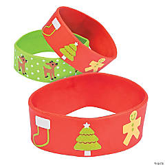 Christmas Big Band Bracelets