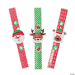 Christmas Buddy Slap Bracelet Craft Kit