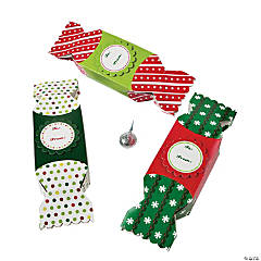 Christmas Candy-Shaped Boxes