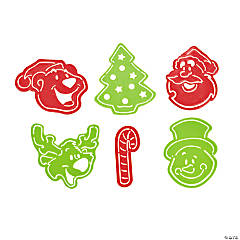 Christmas Character Stencil Bookmarks