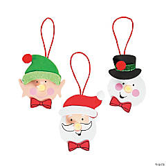 Christmas Character Tea Light Ornament Craft Kit
