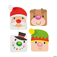 Christmas Characters Magnet Craft Kit