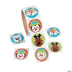 Christmas Characters Stickers