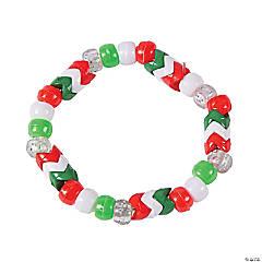 Christmas Chevron Bracelet Craft Kit