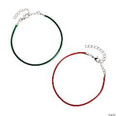 Christmas Cord Bracelets