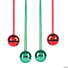 Christmas Disco Ball Necklaces